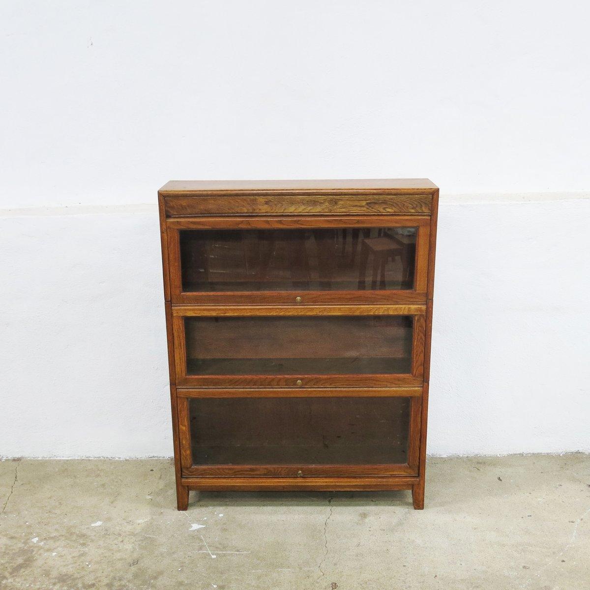englisches vintage b cherregal 1930er bei pamono kaufen. Black Bedroom Furniture Sets. Home Design Ideas