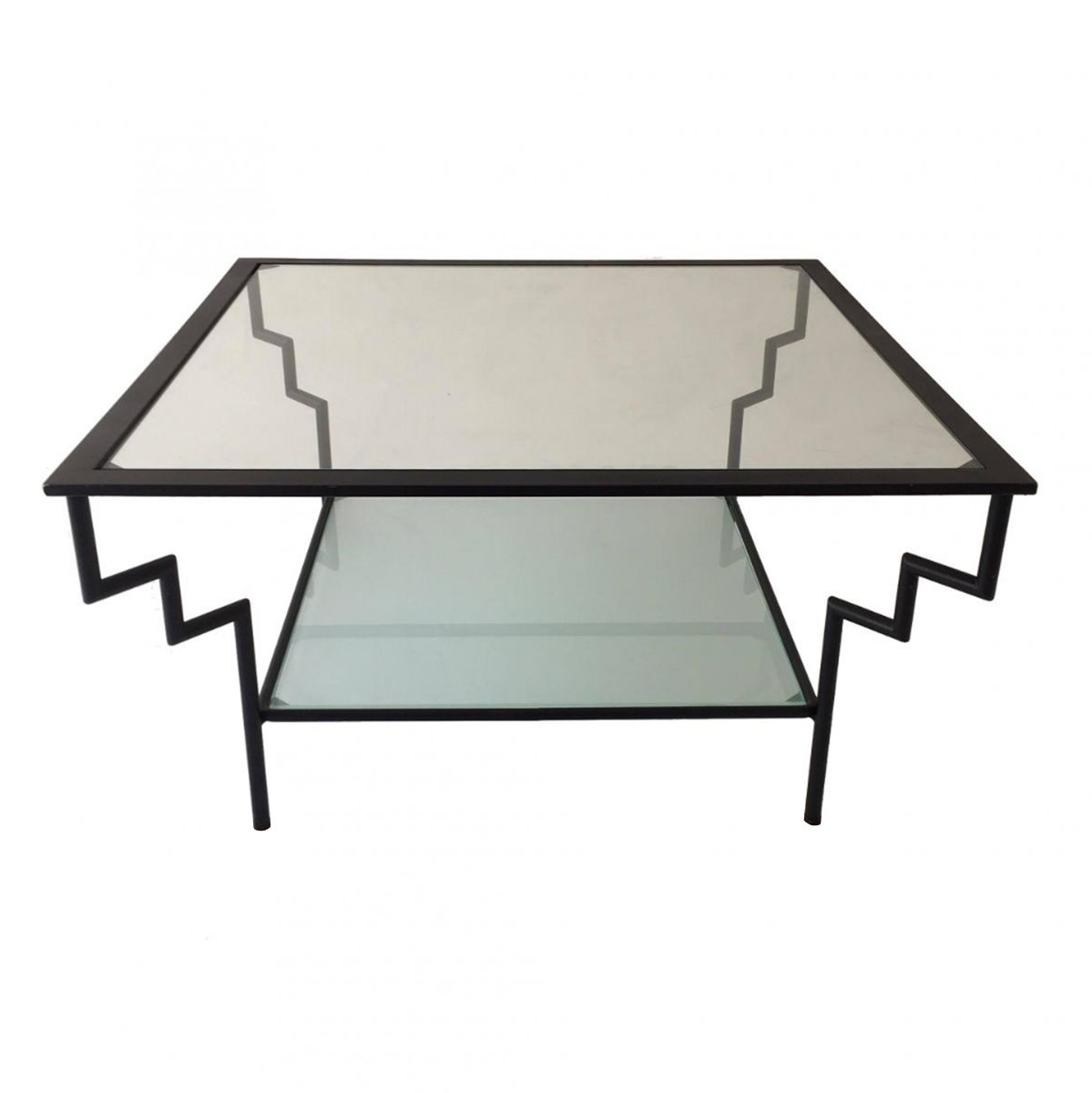 Vintage glass metal coffee table for sale at pamono vintage glass metal coffee table geotapseo Image collections