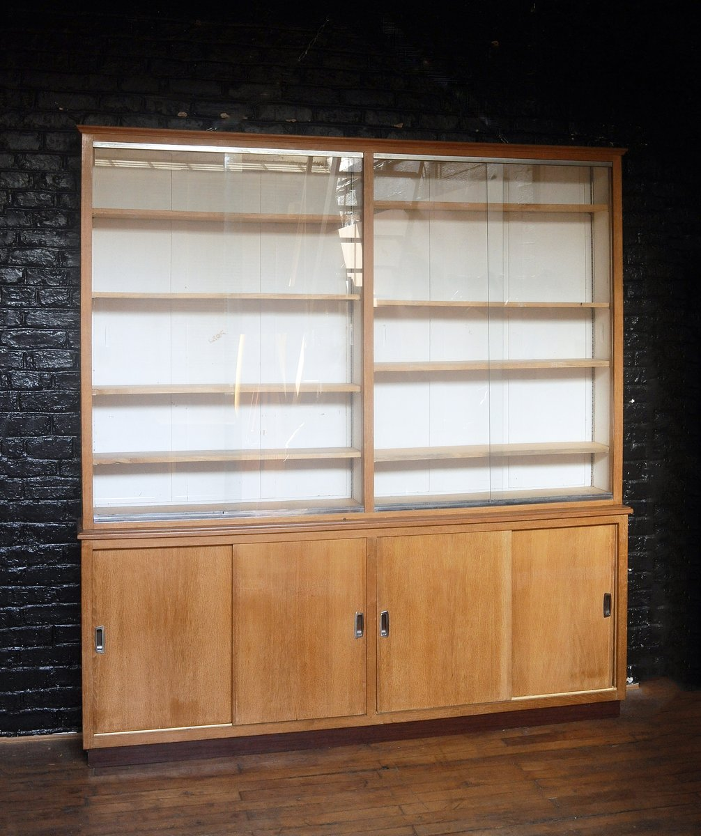 Vintage Wall Unit In Oak For Sale At Pamono