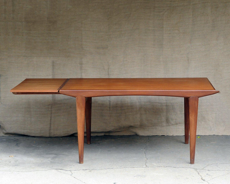 vintage teak esstisch bei pamono kaufen. Black Bedroom Furniture Sets. Home Design Ideas