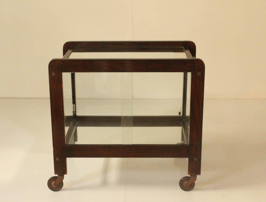 desserte avec miroir vintage en vente sur pamono. Black Bedroom Furniture Sets. Home Design Ideas
