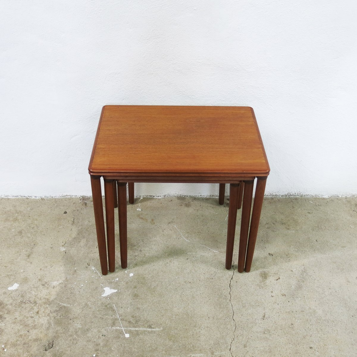 Vintage Danish Nesting Tables 1960s For Sale At Pamono