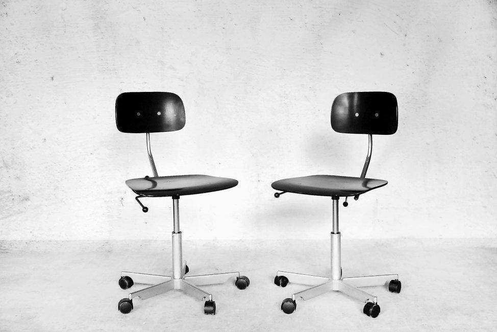 Kevi Desk Chair By Ib And Jorgen Rasmussen For Fritz Hansen Set