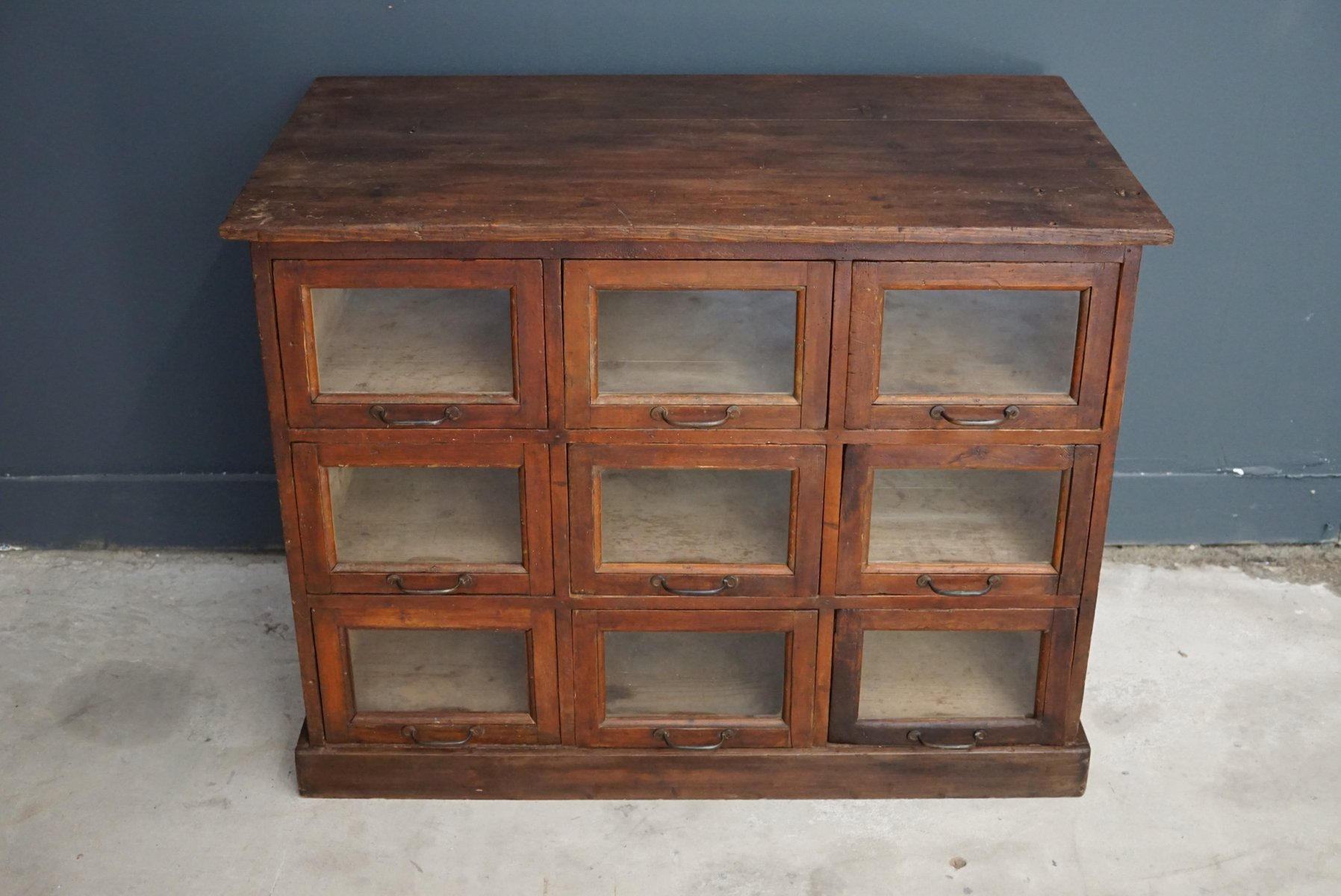 French pine haberdashery shop cabinet 1930s for sale at for 1930s kitchen cabinets for sale