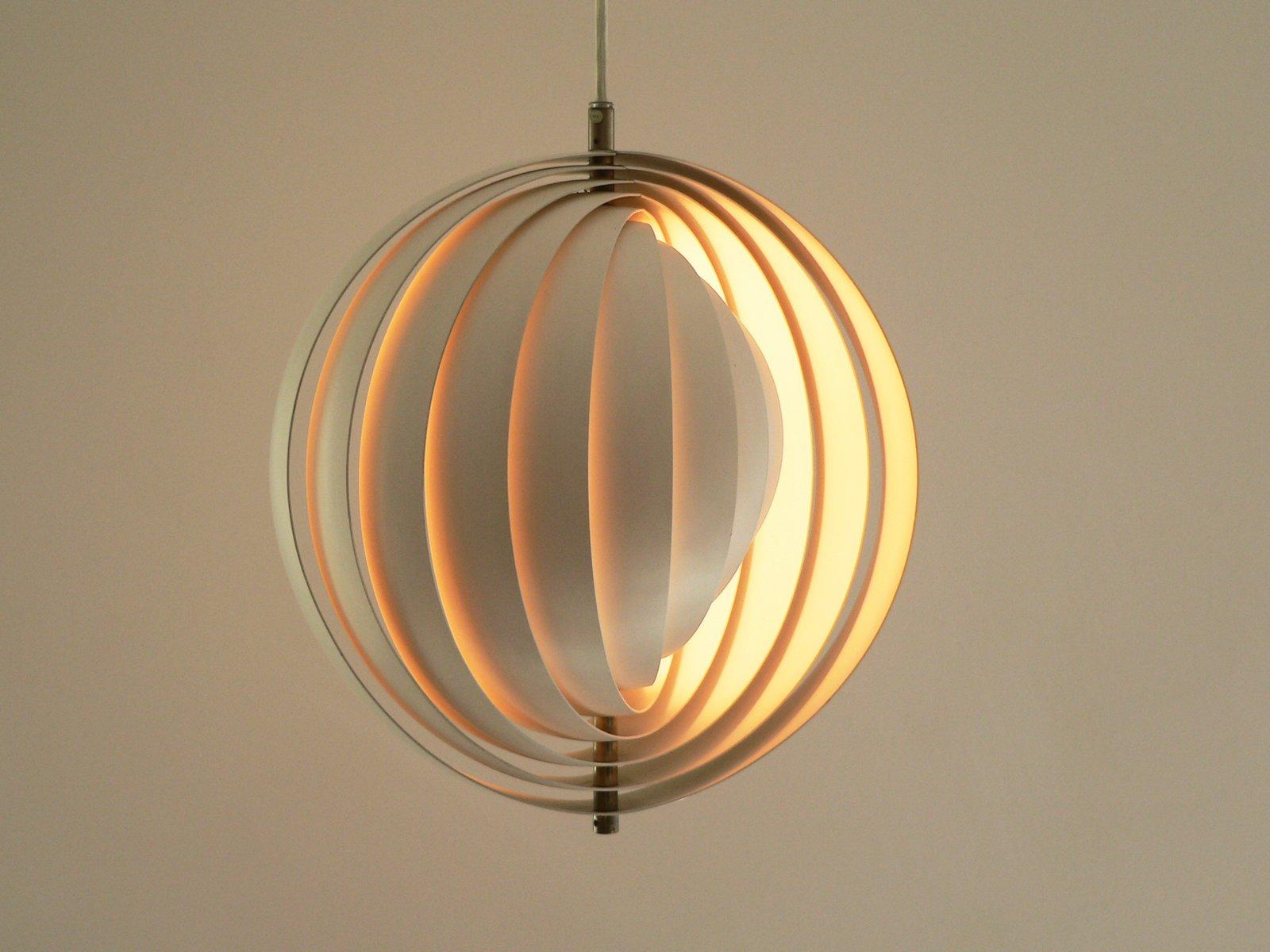 moon lampe von verner panton f r louis poulsen 1960er bei pamono kaufen. Black Bedroom Furniture Sets. Home Design Ideas