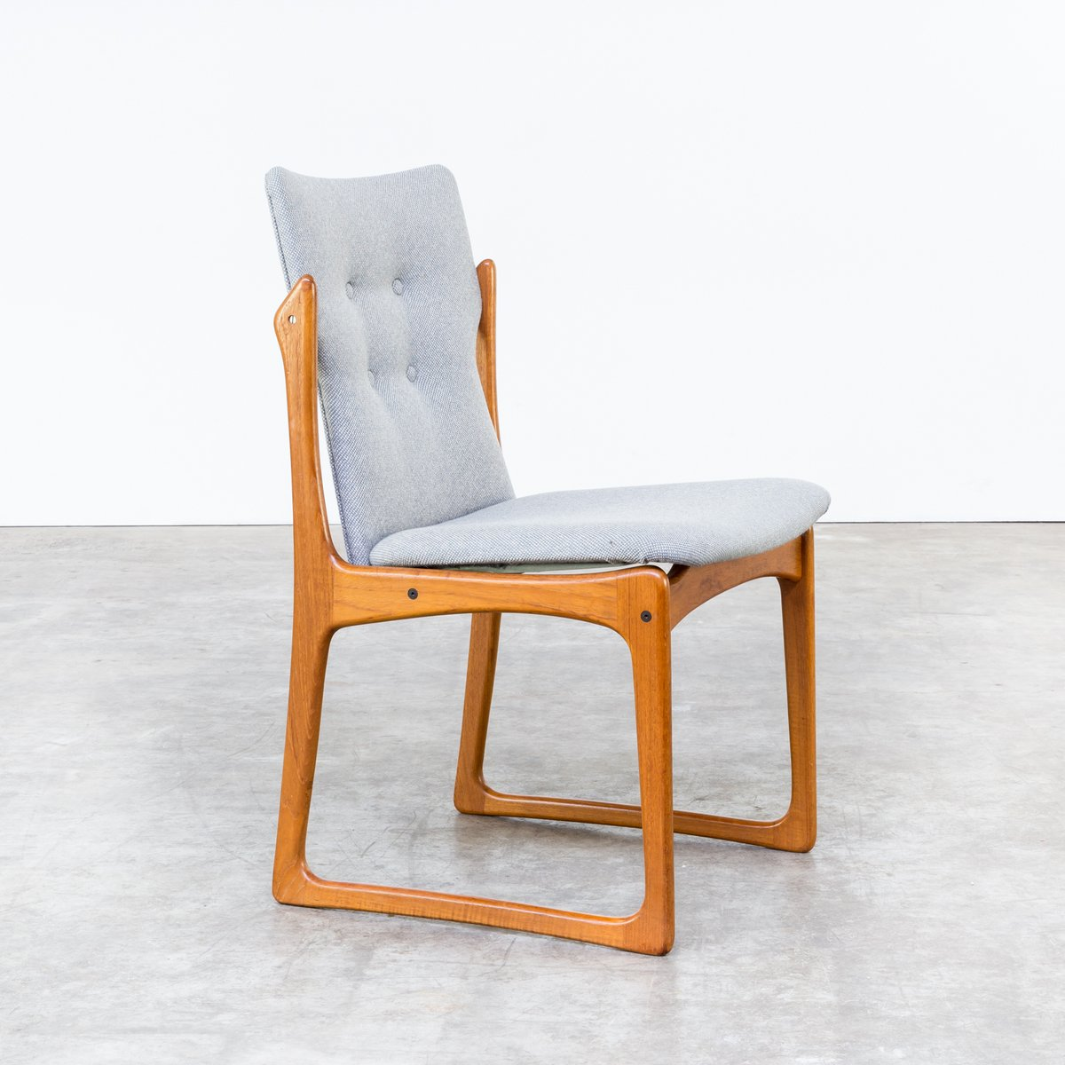 mid century dining room chairs from vamdrup stolefabrik