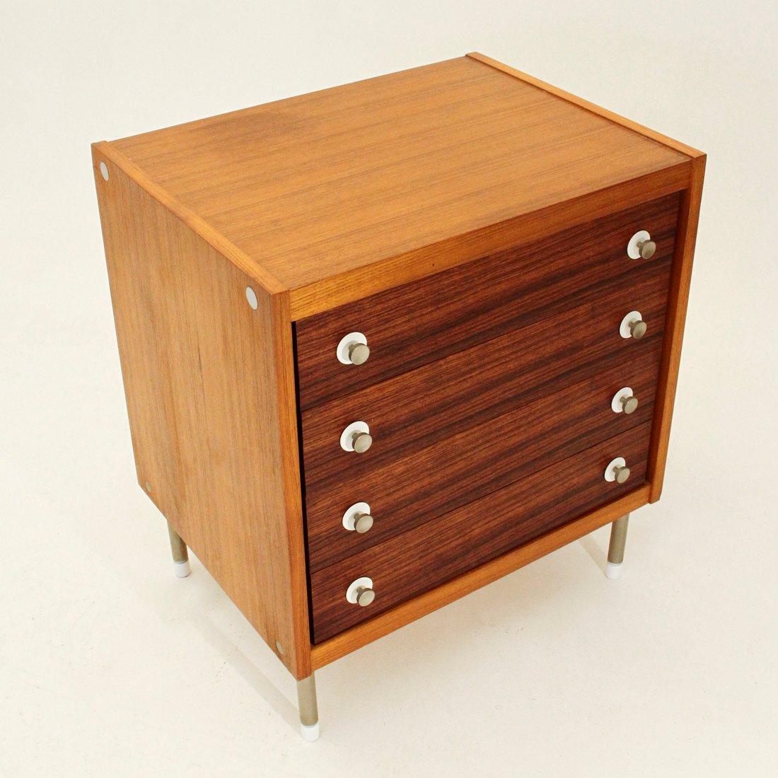 kommode mit vier schubladen 1960er bei pamono kaufen. Black Bedroom Furniture Sets. Home Design Ideas