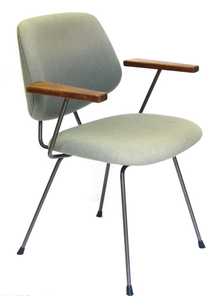 Mid Century Vintage Chair By Wim Rietveld For Kembo For