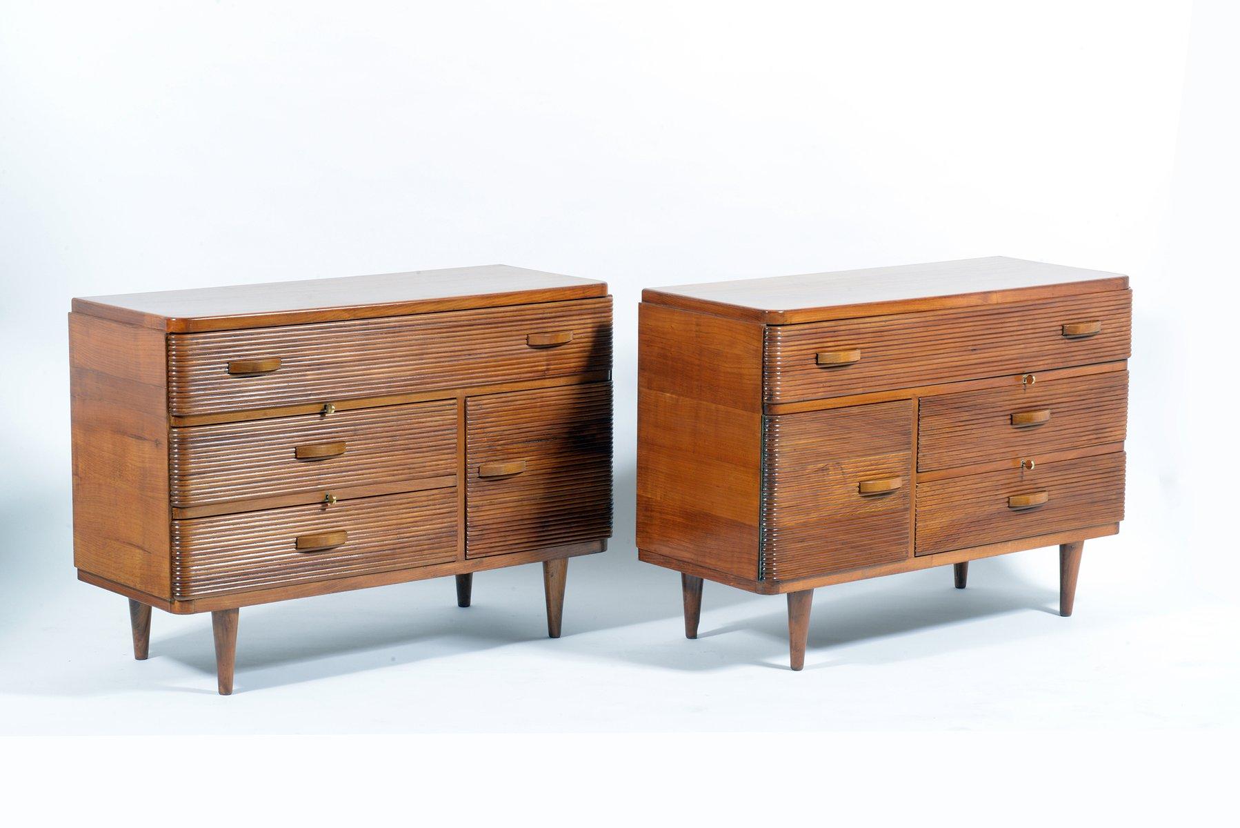 Mid century italian cabinets by gherardo bosio for fagioli for Italian cabinets
