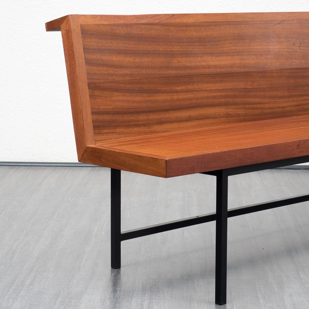 Gro e kirchenbank aus massivem holz 1960er bei pamono kaufen for Grosse esszimmertische aus holz