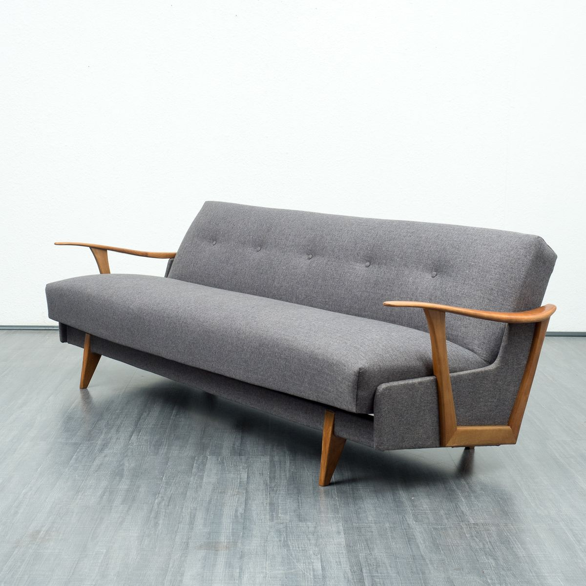 Streamlined sofa bed 1950s for sale at pamono for Sofa bed 50s