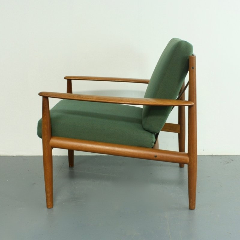 Teak Lounge Chair by Grete Jalk for France & Son 1960s for sale at Pamono