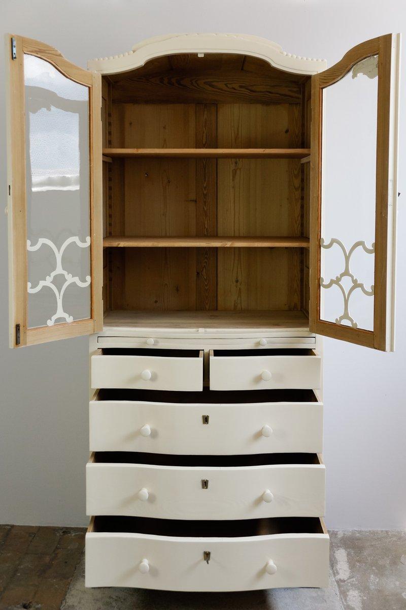frisiertisch vitrine kleiderschrank kommode 1860er. Black Bedroom Furniture Sets. Home Design Ideas