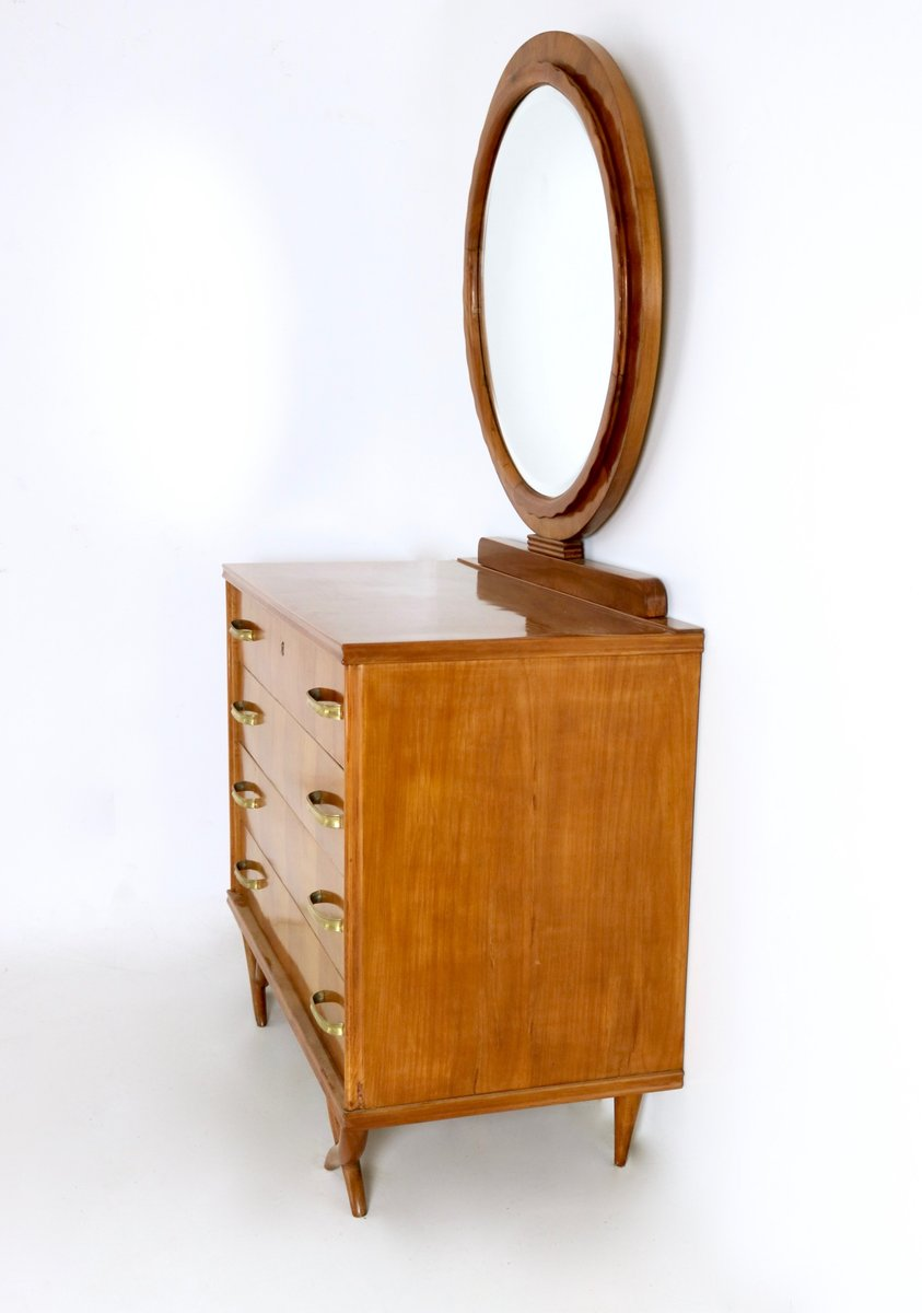Italian Cherry Dressing Table 1940s For Sale At Pamono