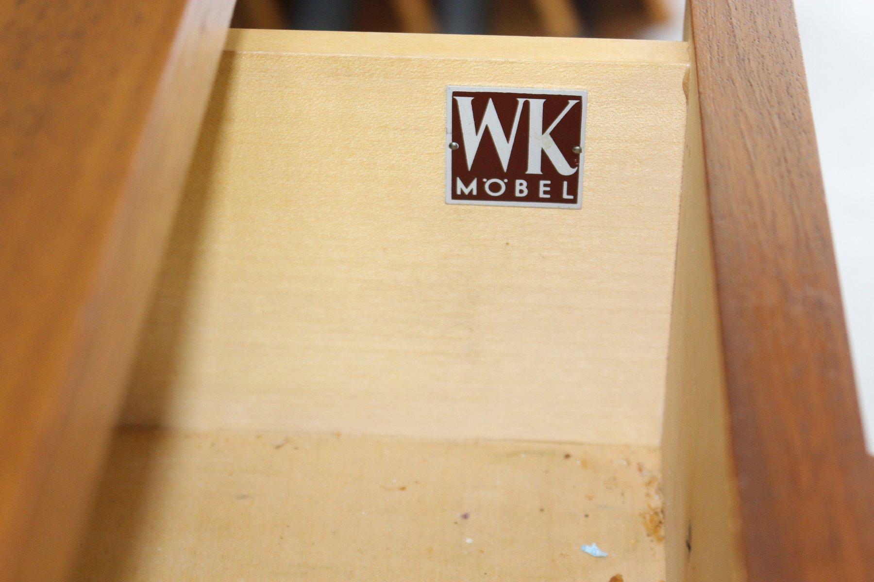 vintage nussholz kommode von paul mccobb f r wk m bel bei. Black Bedroom Furniture Sets. Home Design Ideas