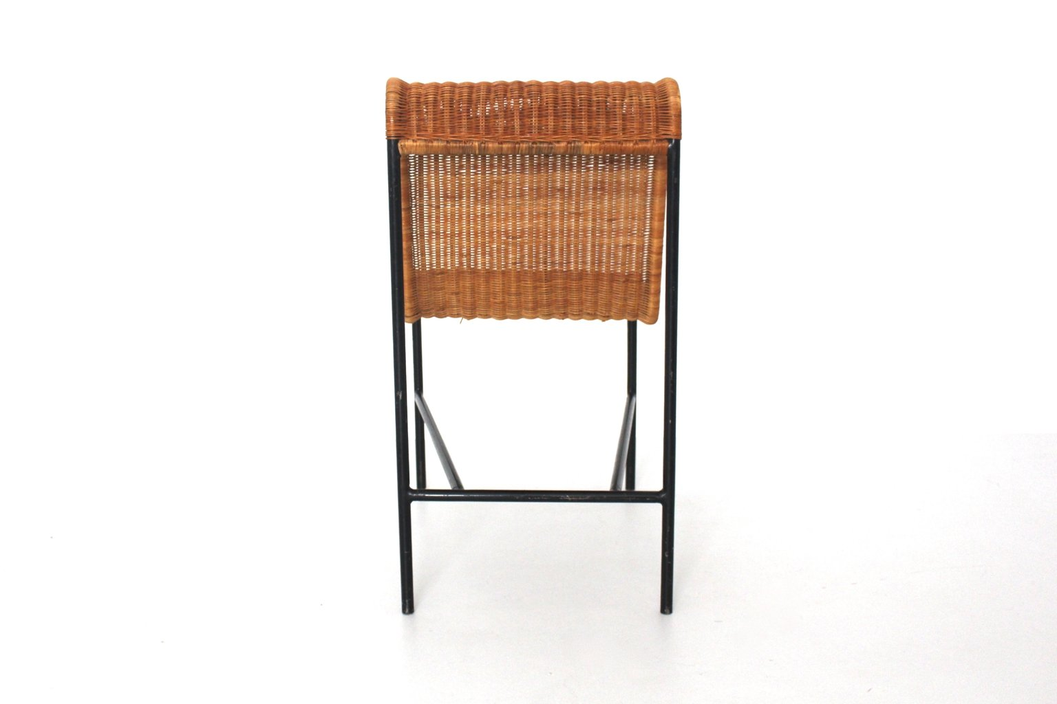 Mid Century Modern Rattan Chair by Harold Cohen and Davis