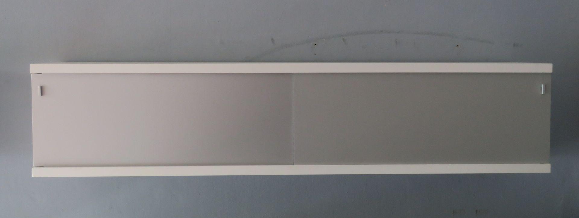 minimalistisches schwebendes sideboard von horst bruning. Black Bedroom Furniture Sets. Home Design Ideas