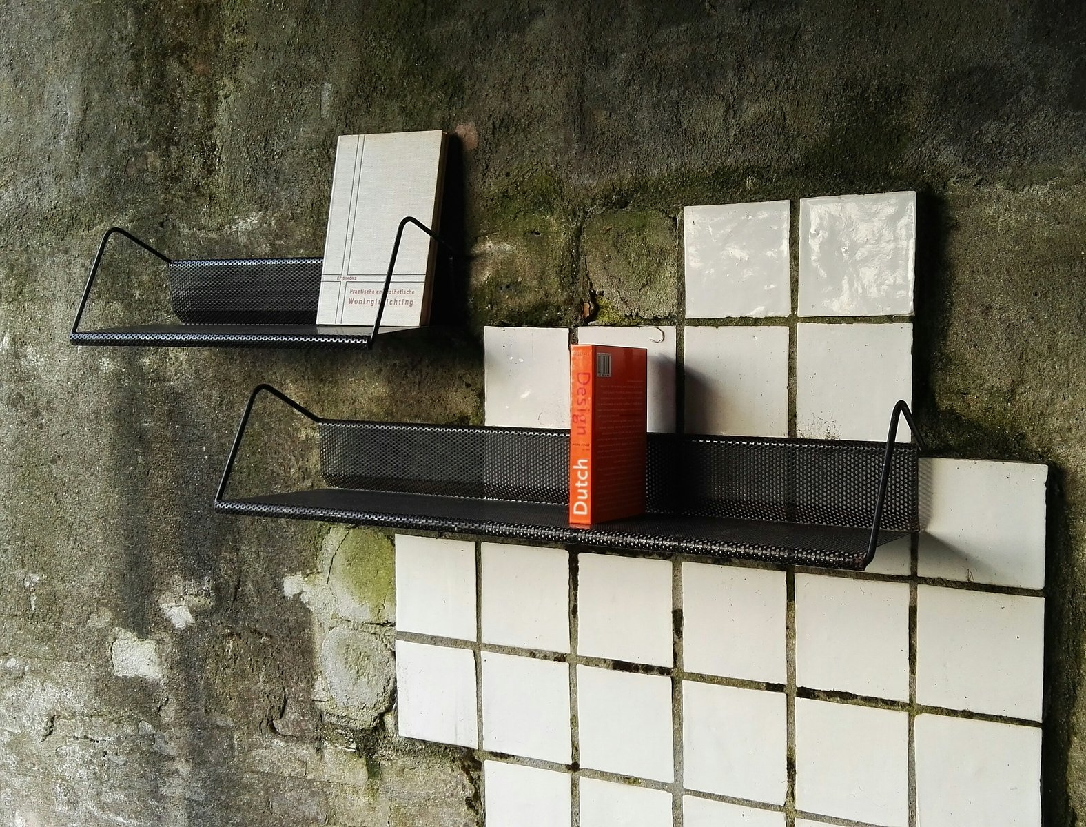 Wall Mounted Book Racks By Matthieu Mategot For Artimeta