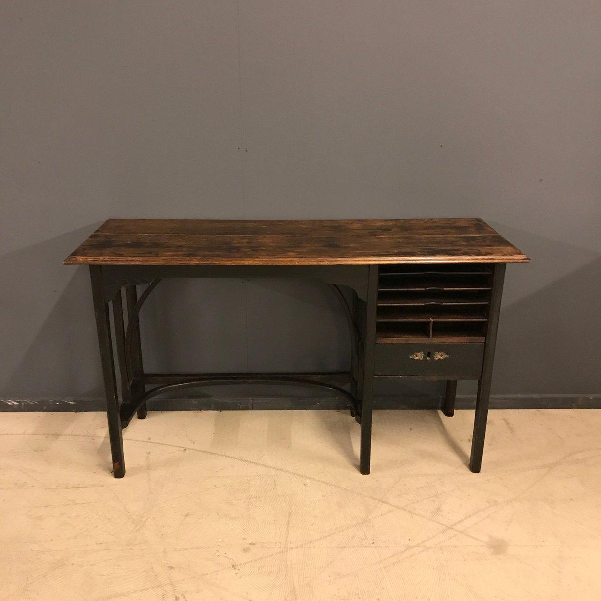 ebonisierter vintage bugholz schreibtisch 1920er bei pamono kaufen. Black Bedroom Furniture Sets. Home Design Ideas