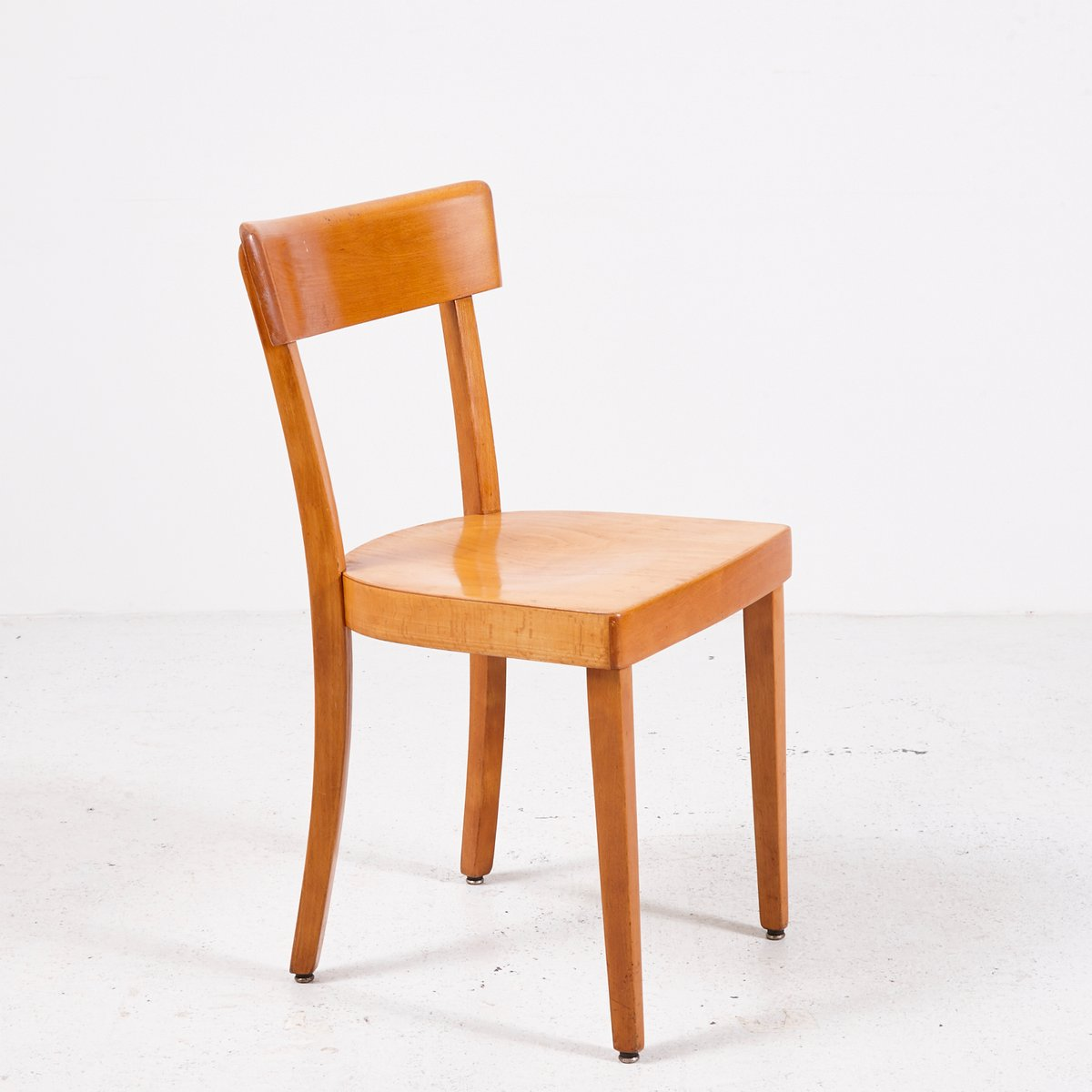 Vintage viennese wooden chair from wiesner hager for sale for Wooden chair
