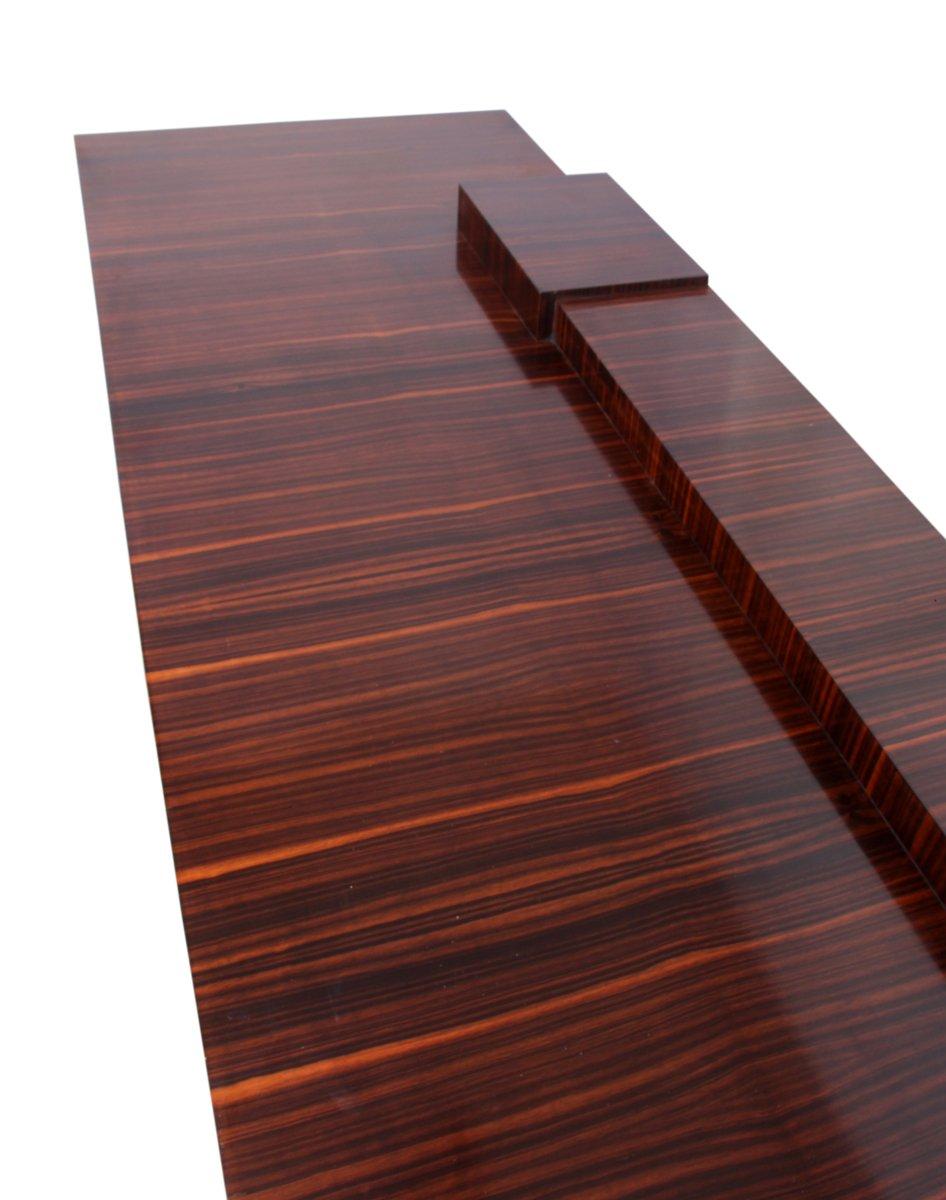 macassar ebenholz wurzel nussholz art deco anrichte 1920er bei pamono kaufen. Black Bedroom Furniture Sets. Home Design Ideas