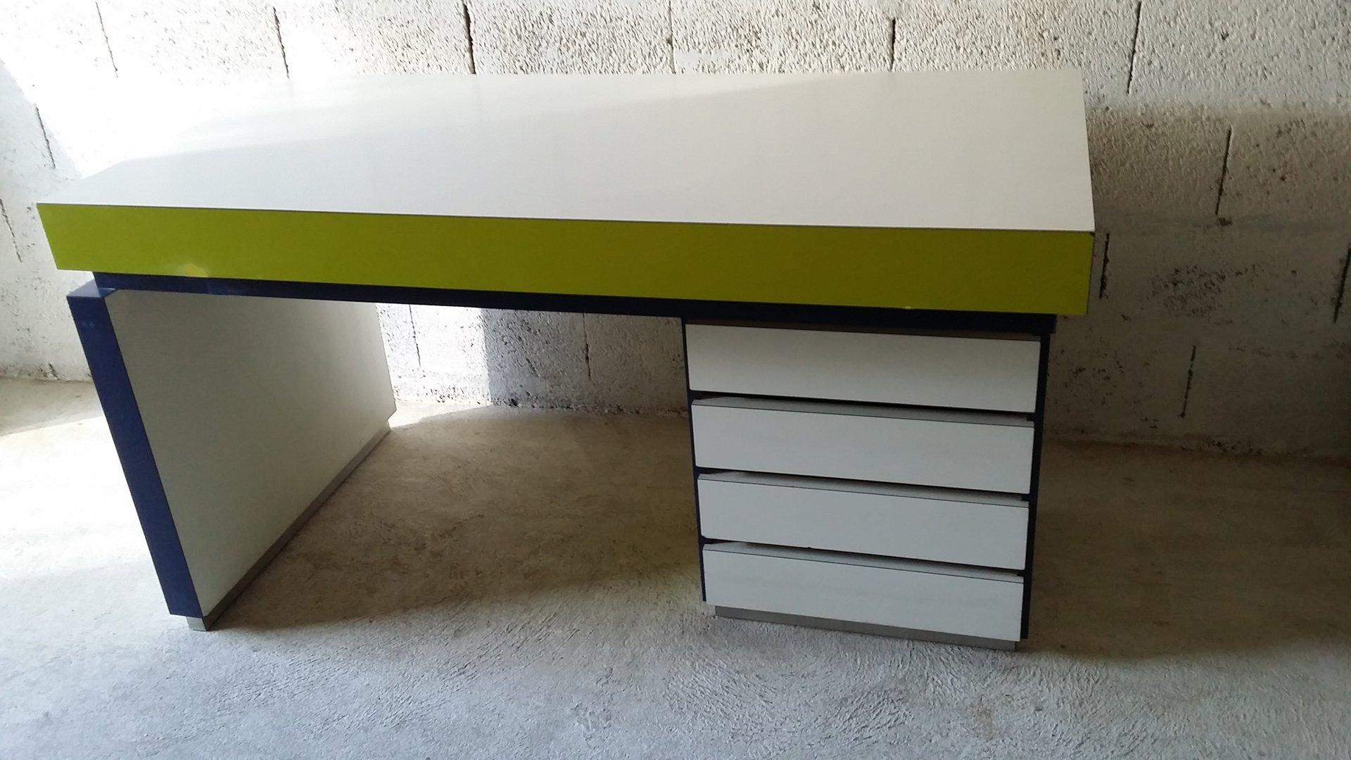 vintage schreibtisch 1980er bei pamono kaufen. Black Bedroom Furniture Sets. Home Design Ideas