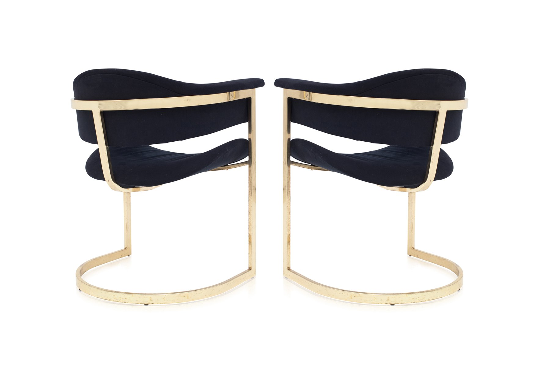 Vintage brass dining chairs from roche bobois set of 6 for sale at pamono - Roche bobois chaises ...