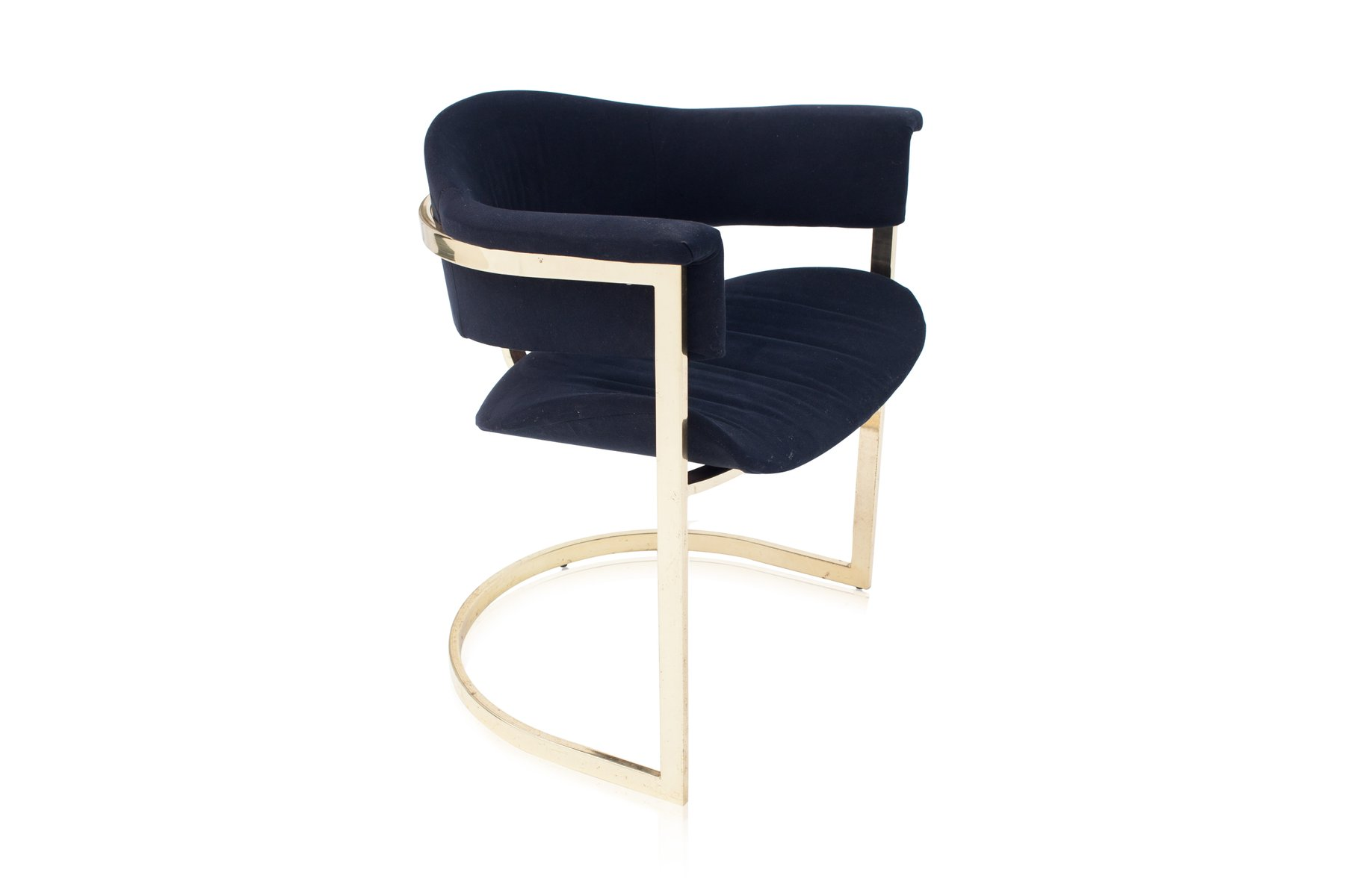 Vintage Brass Dining Chairs from Roche Bobois Set of 6 for sale
