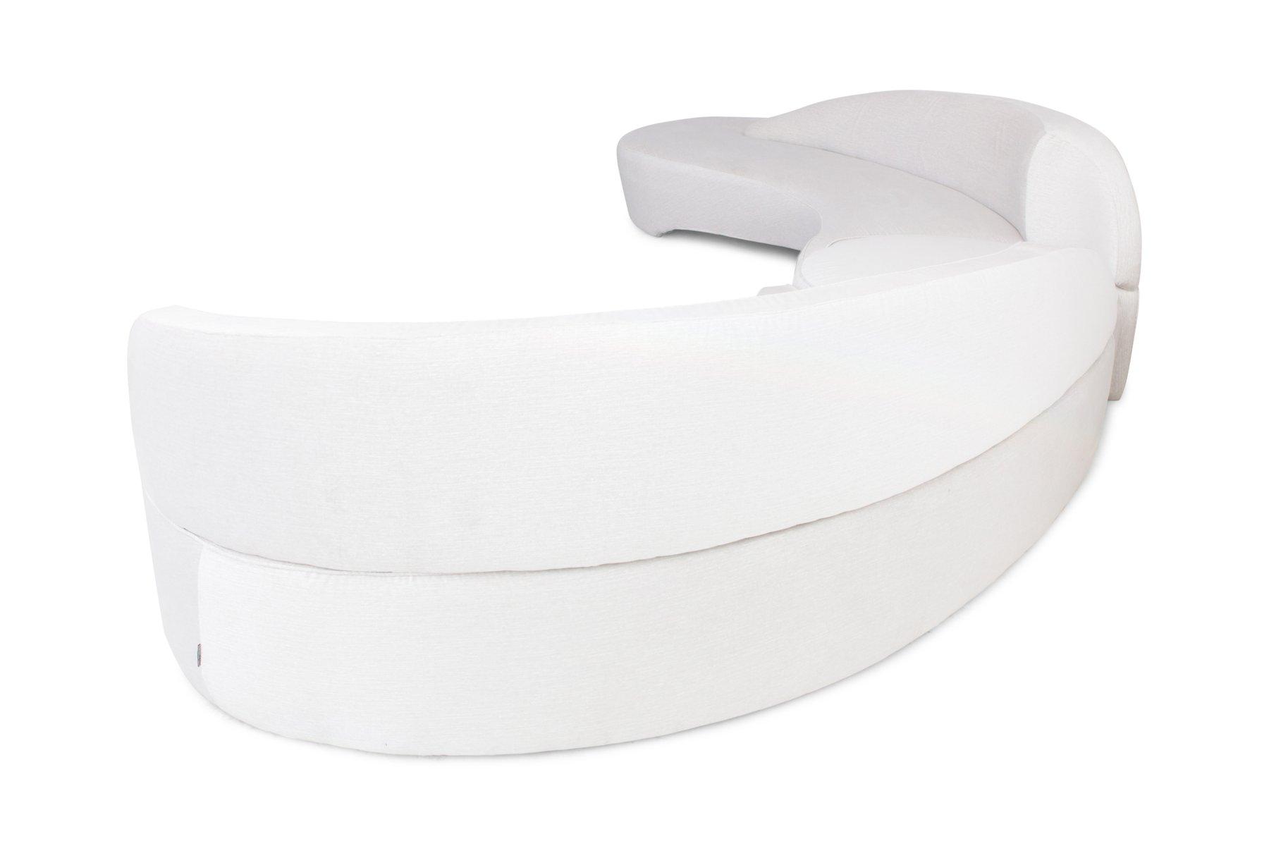canap d angle comet vintage par vladimir kagan pour roche bobois en vente sur pamono. Black Bedroom Furniture Sets. Home Design Ideas
