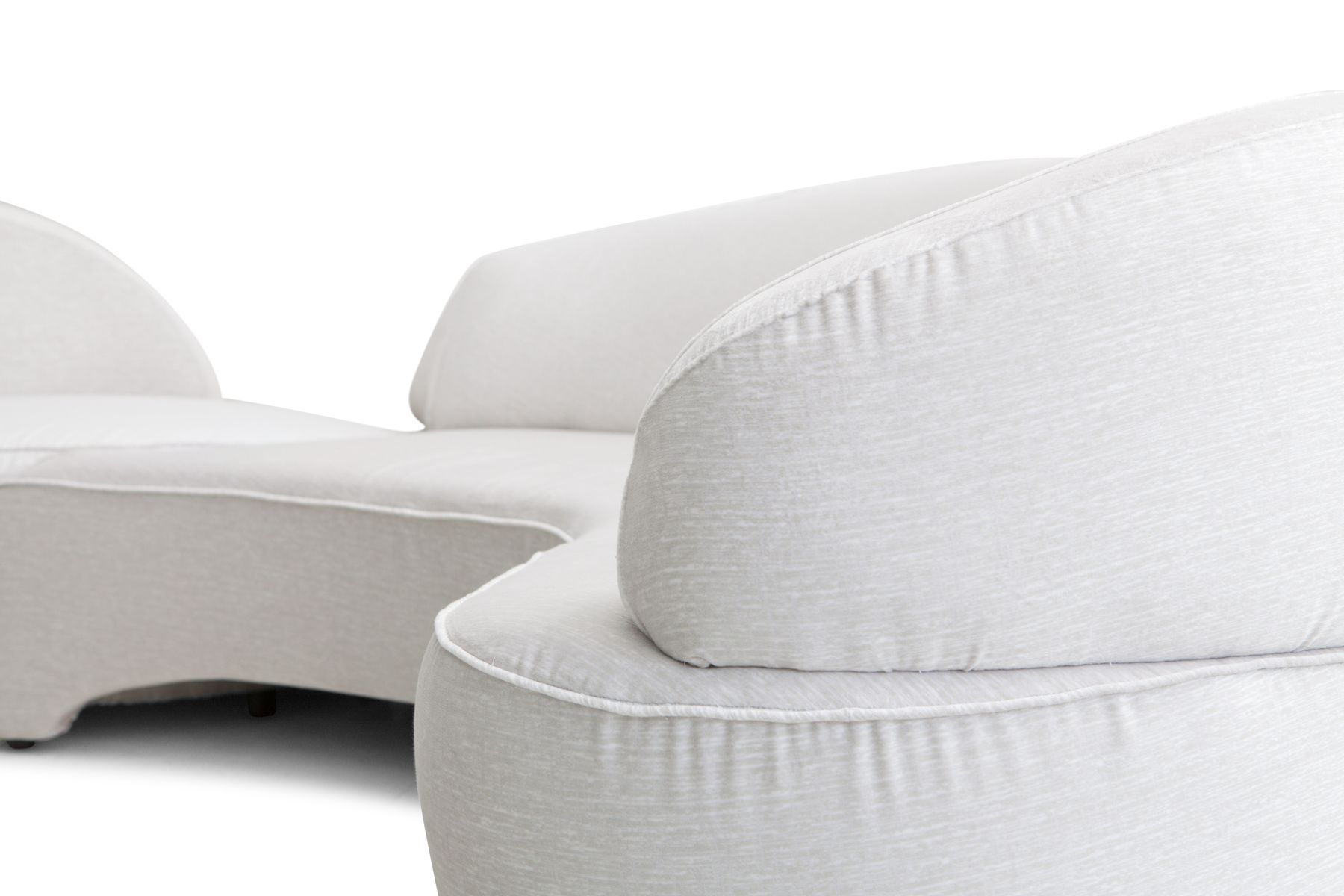 Vintage et Sectional Sofa by Vladimir Kagan for Roche Bobois