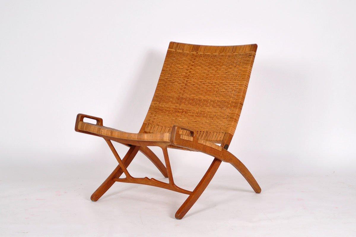 jh512 folding chair by hans j wegner for johannes hansen. Black Bedroom Furniture Sets. Home Design Ideas