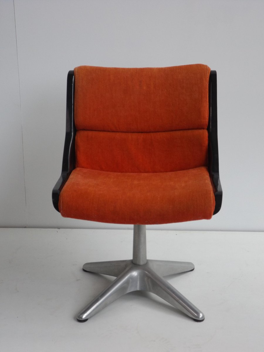 Vintage Desk Chair By Yrjo Kukkapuro For Haimi
