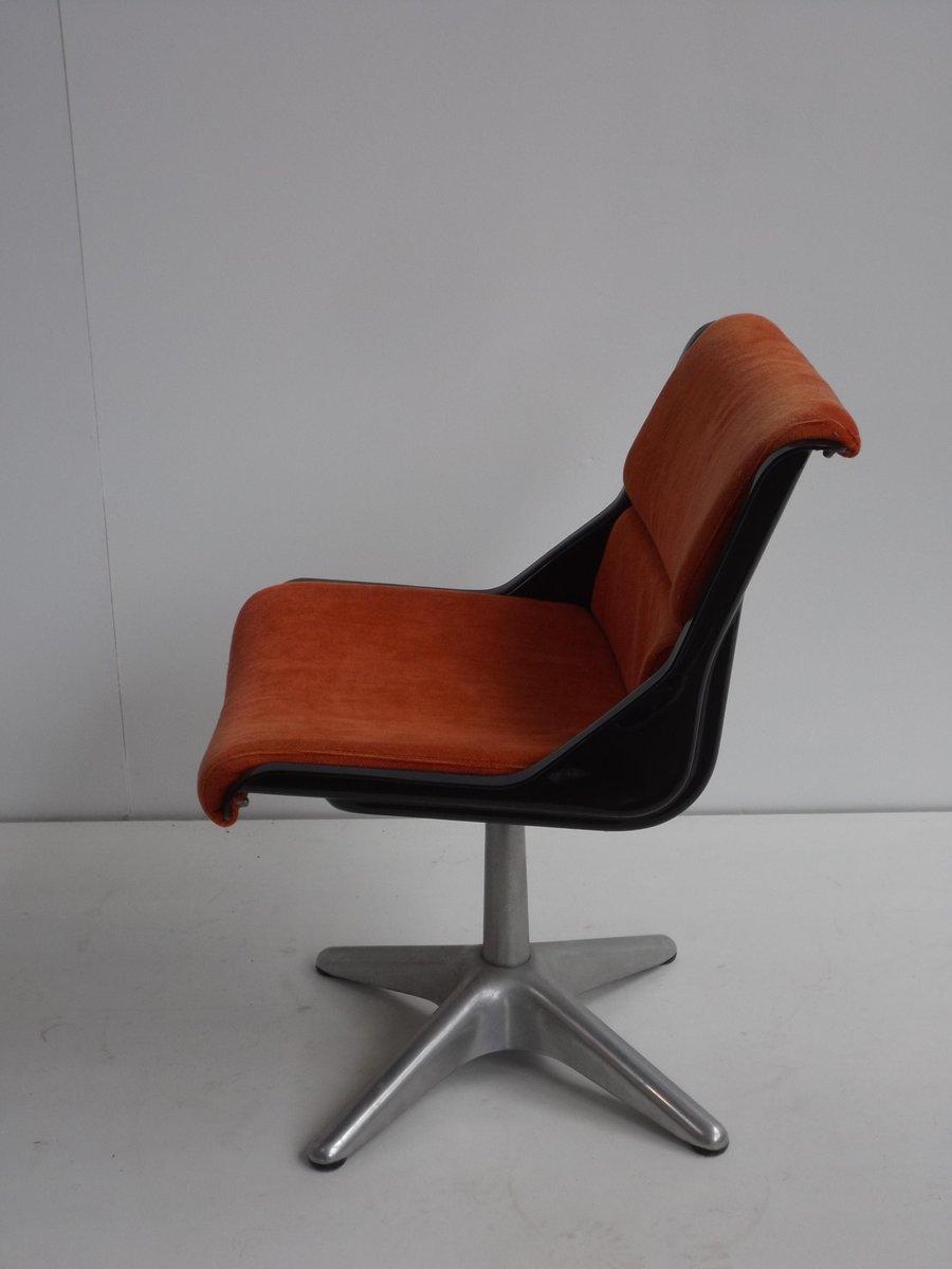 vintage schreibtischstuhl von yrjo kukkapuro f r haimi bei. Black Bedroom Furniture Sets. Home Design Ideas