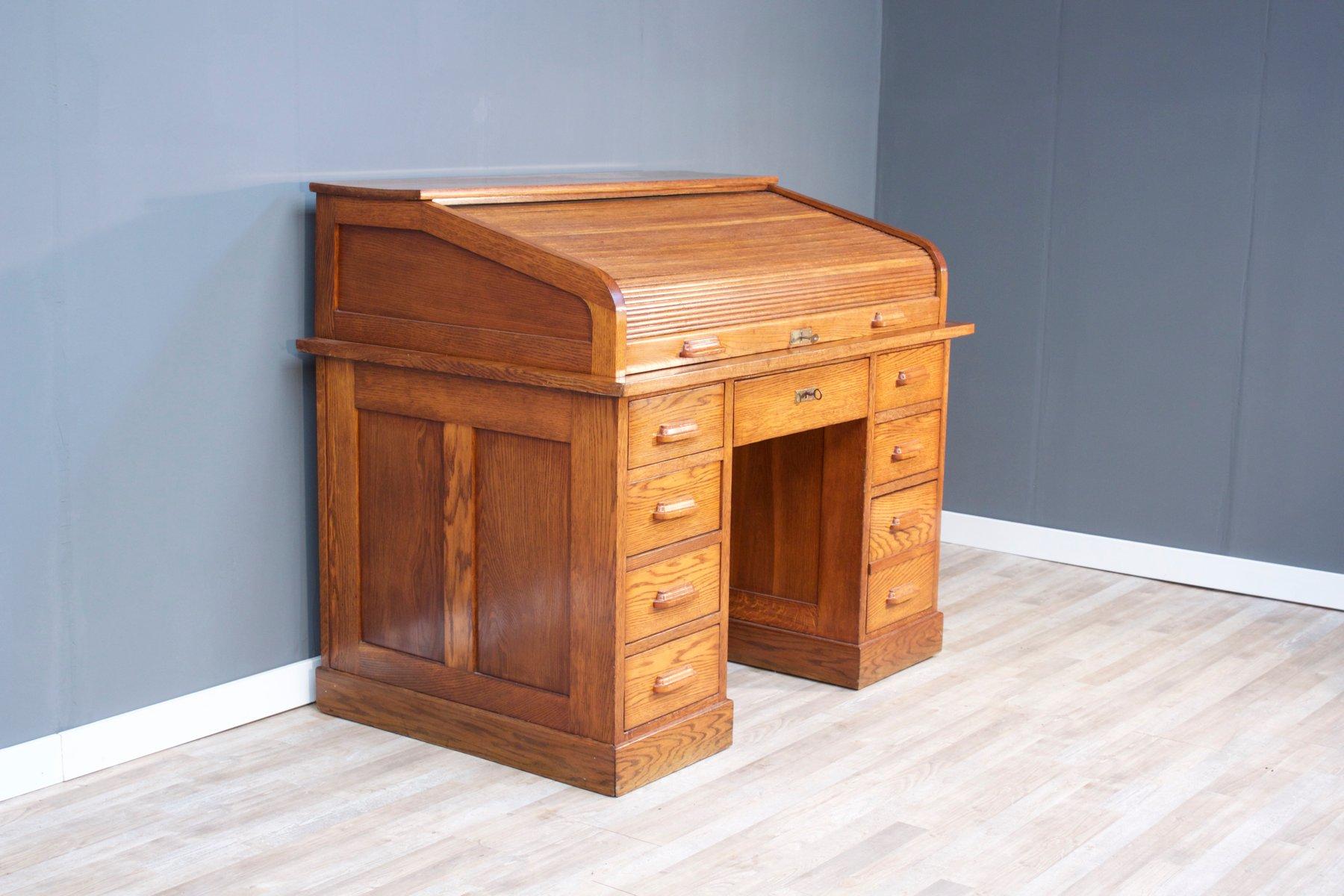 scrivania da ufficio grande buahaus anni 39 20 in vendita