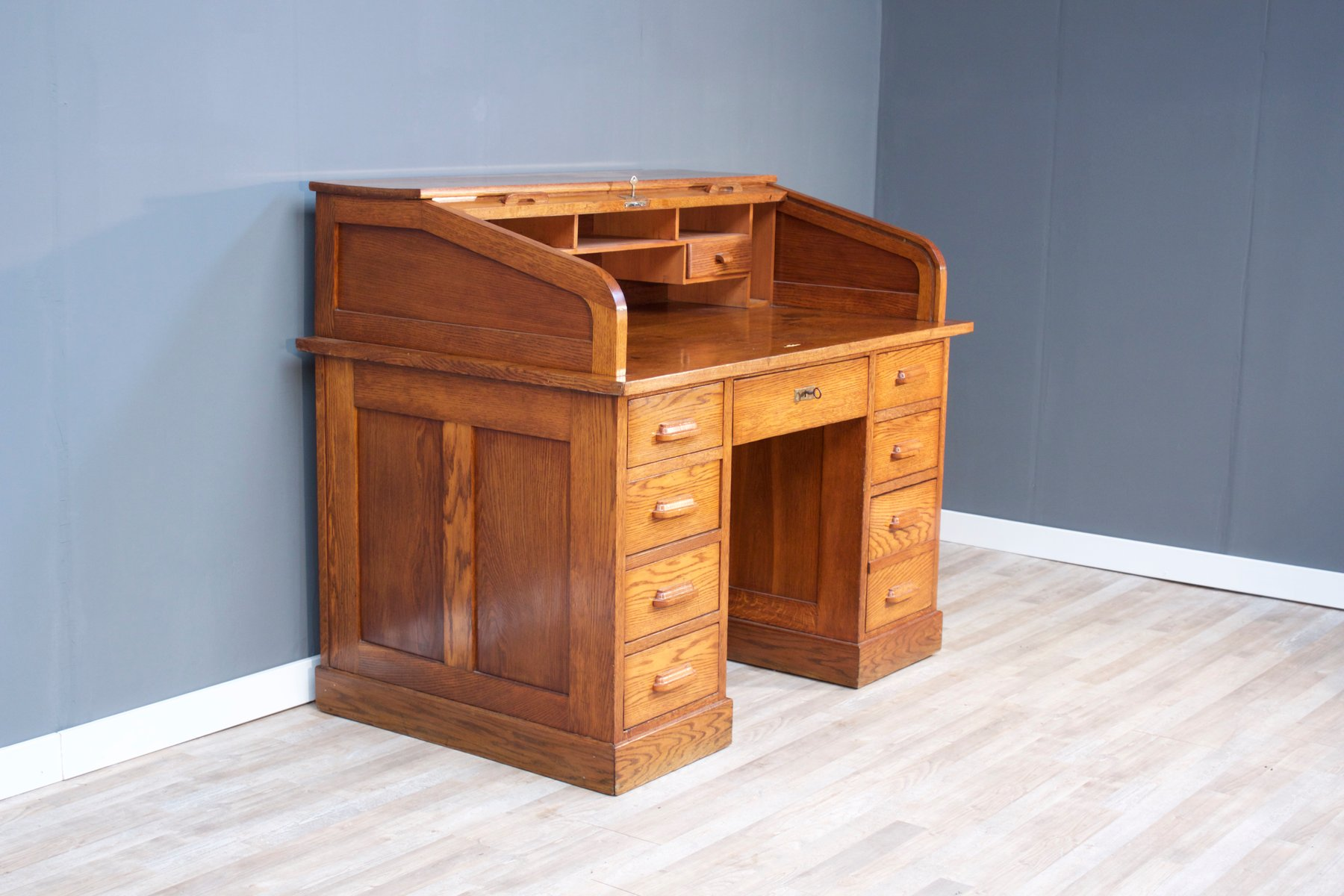 large bauhaus office desk 1920s for sale at pamono