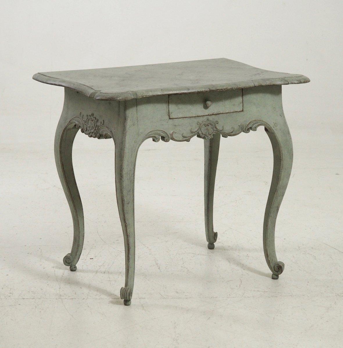 Antique Scandinavian Small Table, 1750s