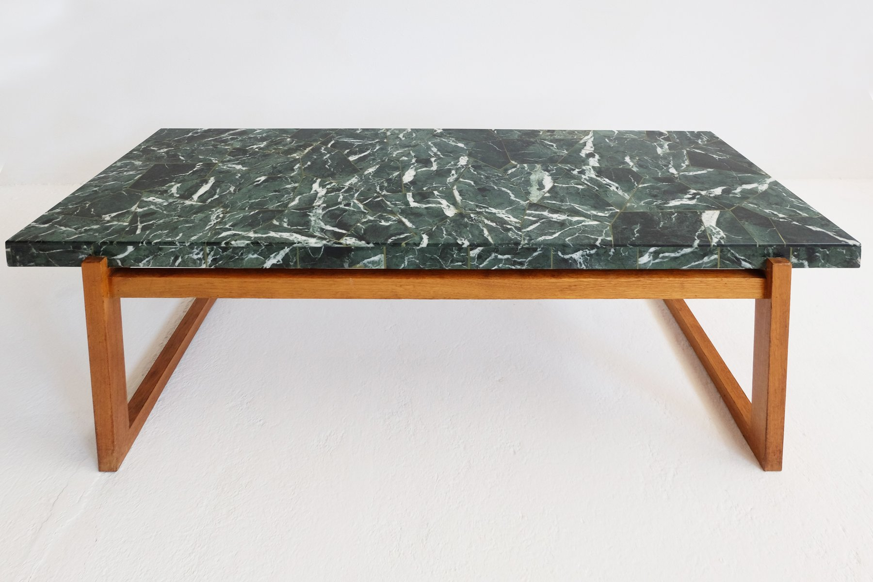 green marble coffee table s for sale at pamono - green marble coffee table s