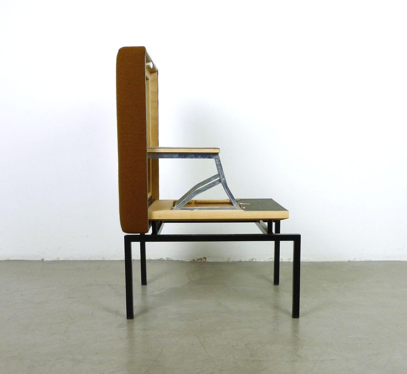 hocker mit trittleiter von cor 1960er bei pamono kaufen. Black Bedroom Furniture Sets. Home Design Ideas