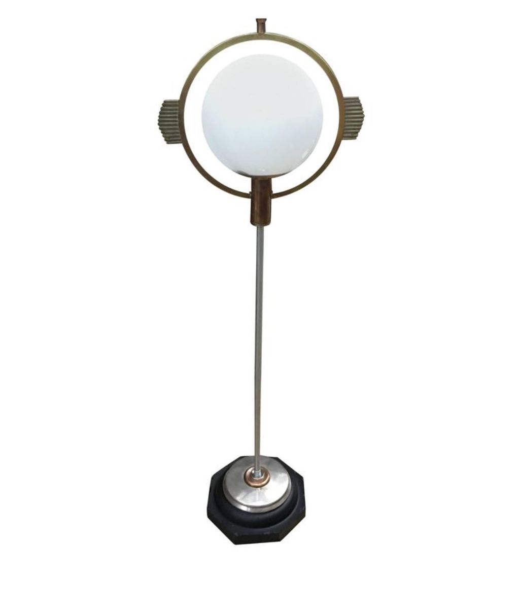 Art deco floor lamp 1930s for sale at pamono for 1930 floor lamps