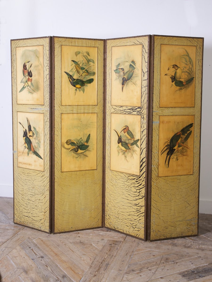 Antique Room Screen By Gould Richter For Sale At Pamono