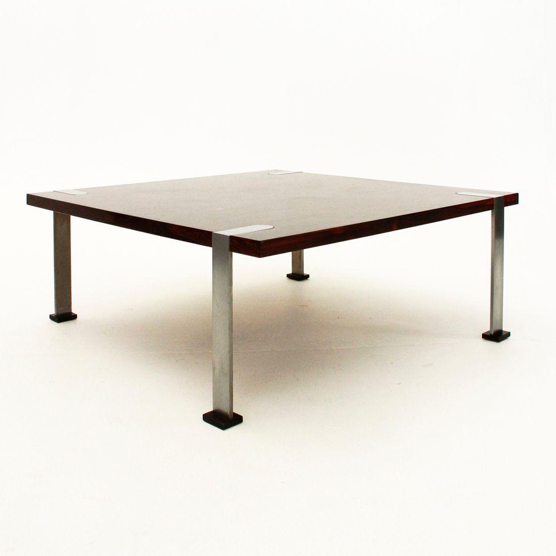 Tavolino da caff quadrato italia anni 39 60 in vendita su for Tavolino anni 60 design