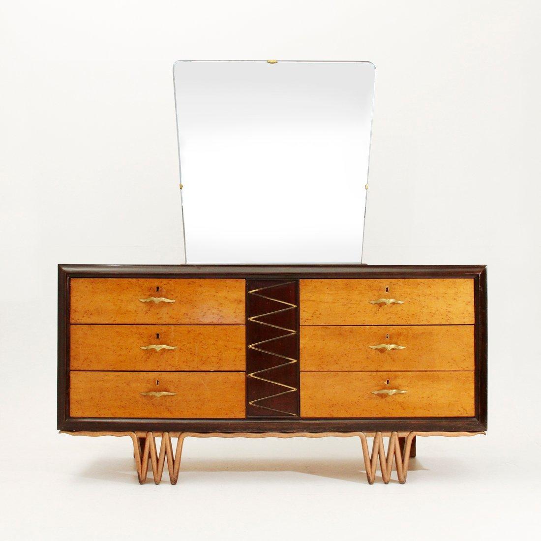 italienische art deco kommode 1940er bei pamono kaufen. Black Bedroom Furniture Sets. Home Design Ideas