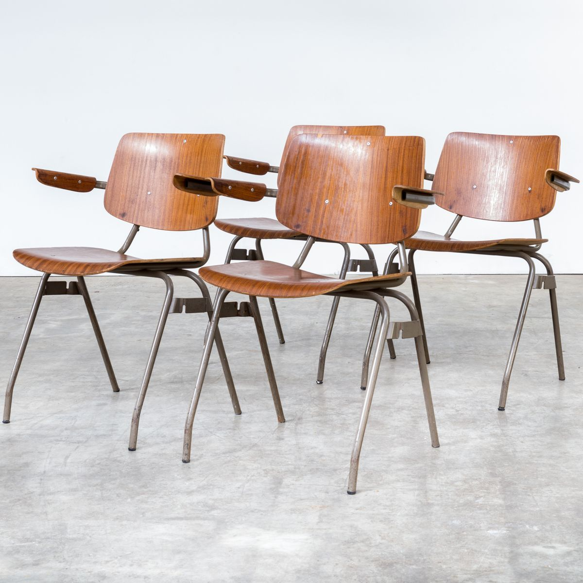 Office Chairs By Kho Liang Ie For Car 1960s Set Of 4 For