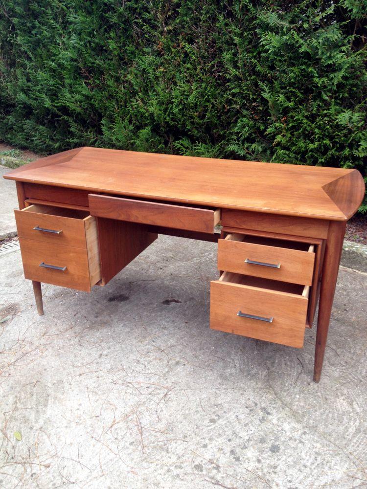 Scandinavian teak office desk from ramseur furn 1960s for sale at pamono - Teak office desk ...