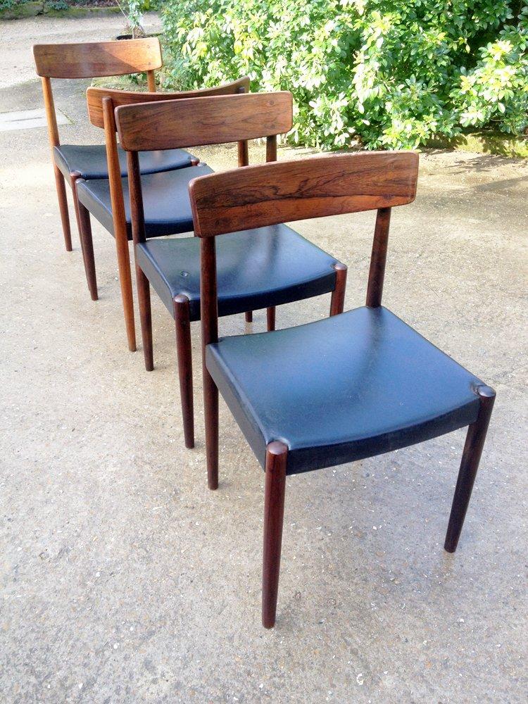 skandinavische st hle von nils jonsson f r troeds 1960er 4er set bei pamono kaufen. Black Bedroom Furniture Sets. Home Design Ideas