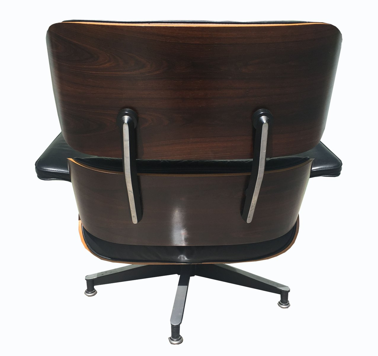 670 671 lounge chair ottoman by charles and ray eames for herman - Eames chair herman miller ...