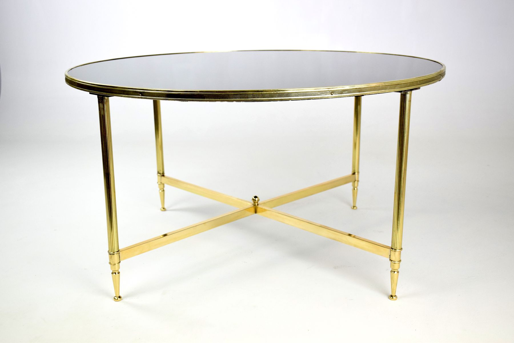 Vintage French Bronze Coffee Table 1970s For Sale At Pamono