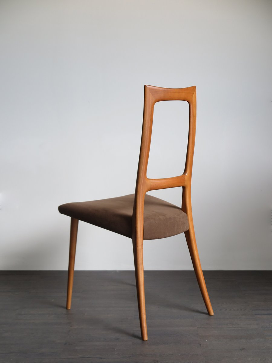 Cherry wood chairs dining