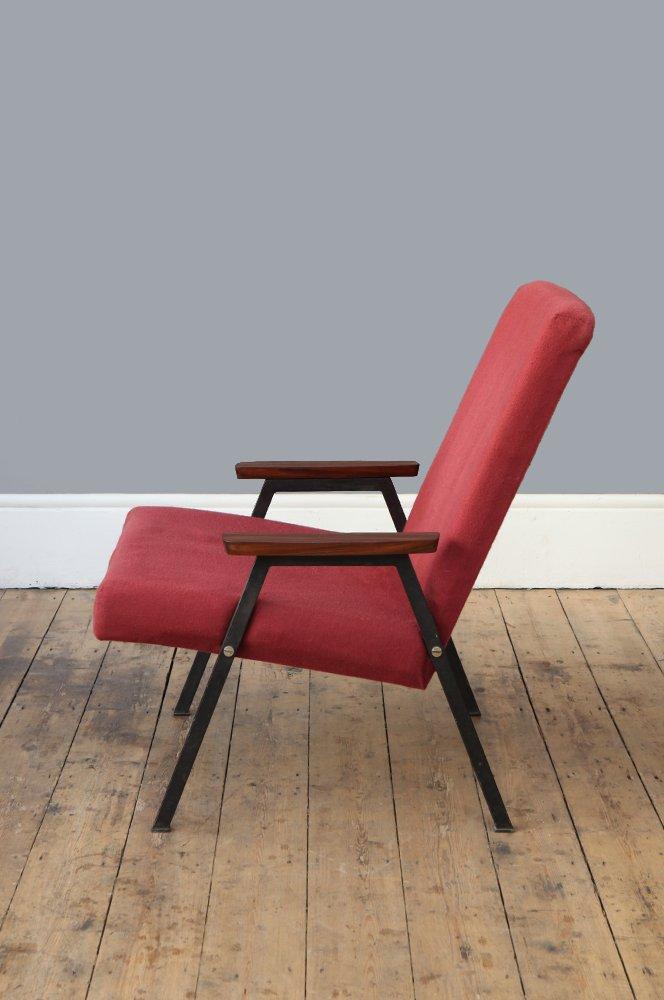 sessel mit stahlrahmen 1960er bei pamono kaufen. Black Bedroom Furniture Sets. Home Design Ideas
