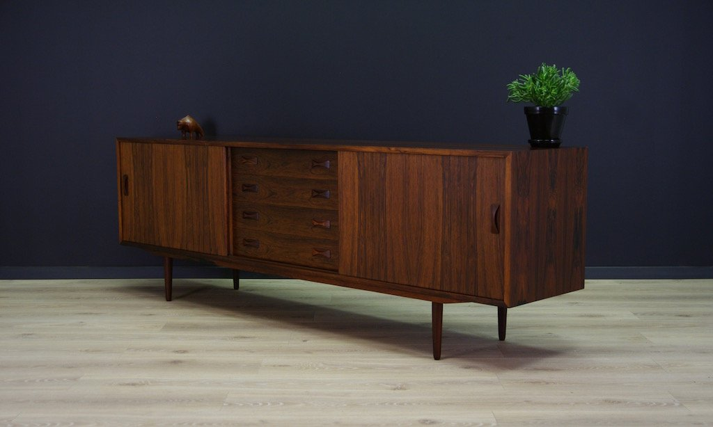 Vintage Rosewood Sideboard From Clausen amp Son For Sale At